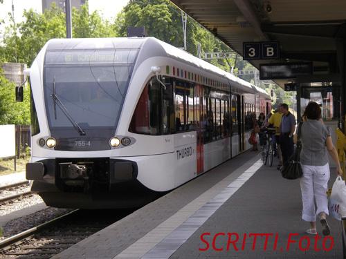 GTW (Stadler Rail) für Thurbo in Kreuzlingen