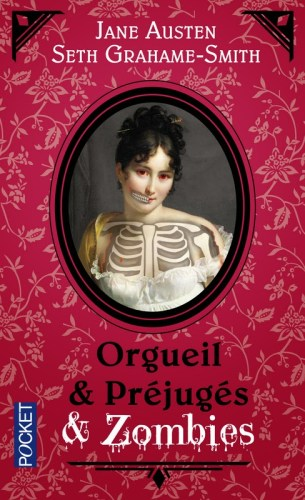 The cover for the French pocket edition of Pride and Prejudice and Zombies.