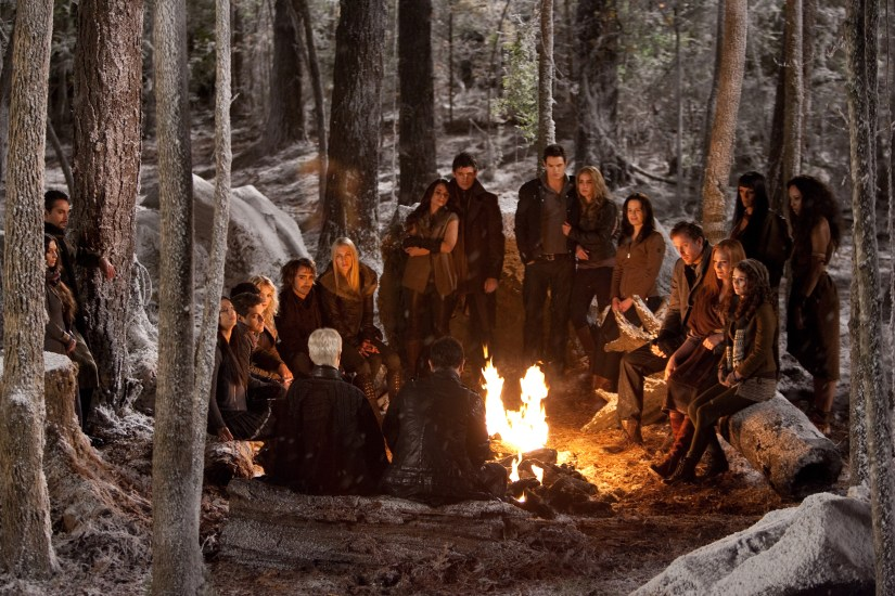 Vampires of the world, all gathered around the campfire like one big happy family.