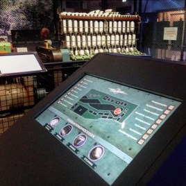 custom public system at a museum
