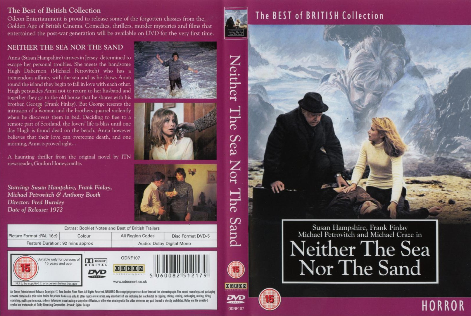 Poster do filme Neither the Sea Nor the Sand