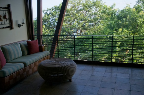 Every hotel room has a gorgeous, screened lanai.