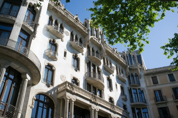 Exterior of Casa Fuster Hotel in Barcelona.
