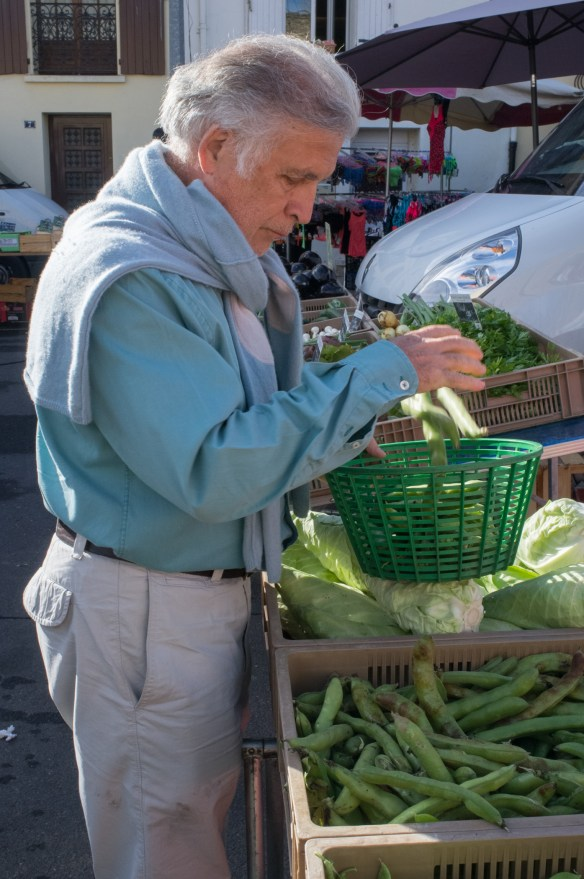 Shopping with Jean-Pierre is an adventure. Be sure to click the link to his cookbook at the bottom of this post. Great reading!