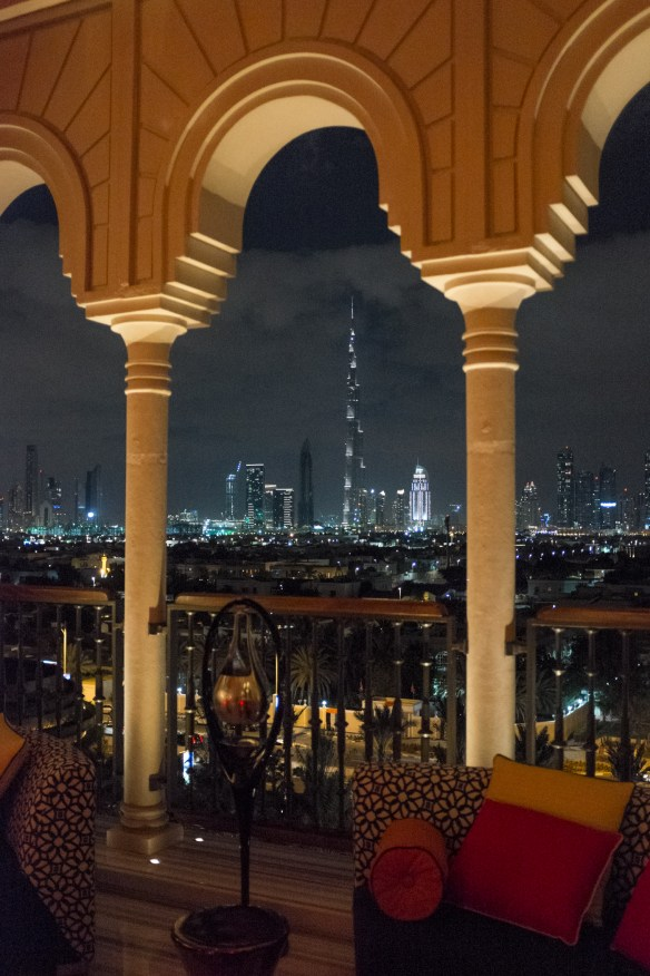 The Mercury Lounge at Four Seasons Dubai is a great place to relax and contemplate the remarkable transition of Dubai from a Bedouin village to an ultra modern international tourism and commercial hub.