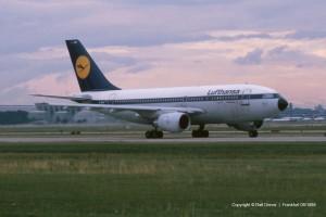 D-AICK Lufthansa Airbus A310-203 | MSN 257