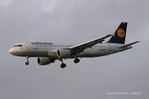 D-AIPF Lufthansa Airbus A320-211 (MSN 83)
