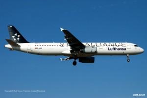 D-AIRW Lufthansa Airbus A321-131 | MSN 699