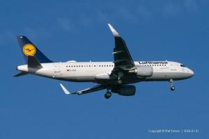 D-AIUA Lufthansa Airbus A320-214 | MSN 5935