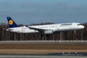 D-AISB Lufthansa Airbus A321-231 | MSN 1080