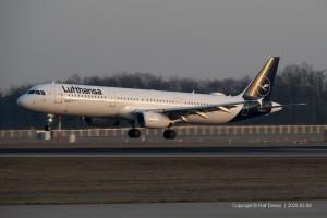 D-AISP Lufthansa Airbus A321-231 | MSN 3864