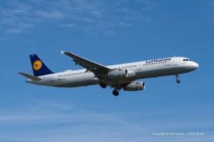 D-AISZ Lufthansa Airbus A321-231 | MSN 4085