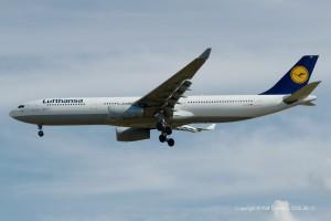 D-AIKE Lufthansa Airbus A330-343 | MSN 636