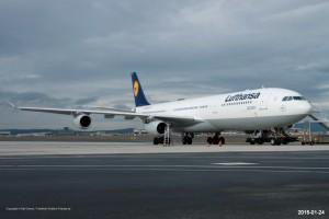 D-AIGS Lufthansa Airbus A340-313 | MSN 297