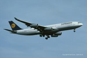 D-AIBD Lufthansa Airbus A340-211 | MSN 18