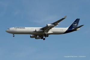 D-AIGU Lufthansa Airbus A340-311 | MSN 321