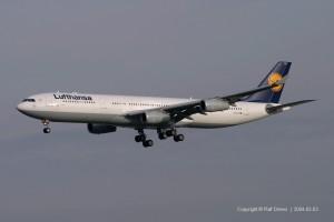D-AIGY Lufthansa Airbus A340-313 | MSN 335