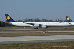 D-AIHY Lufthansa Airbus A340-642 | MSN 987