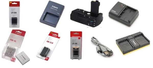 Аккумулятор для Canon LP-E5 LP-E6 LP-E8 LP-E10 Батарейный ...