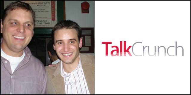 Micheal Arrington and FrankGruber co-host TalkCrunch Episode4
