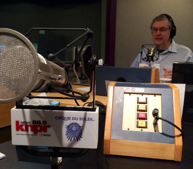 Appearing on the KNPR