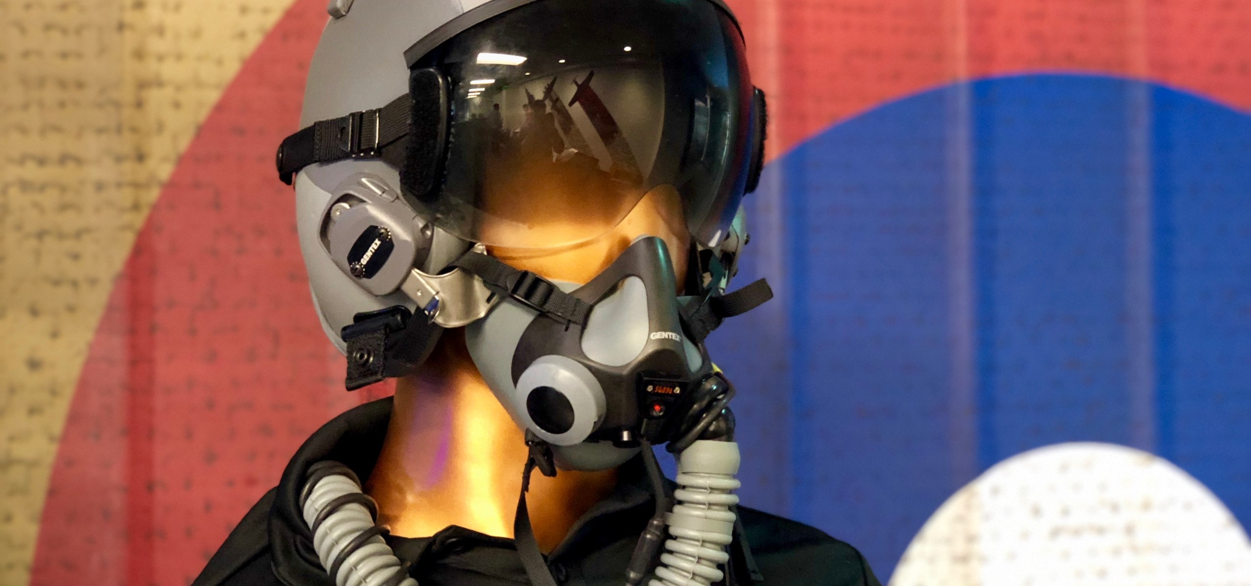 USAF Fixed Wing Helmet at AFWERX Vegas photo by Frank Gruber