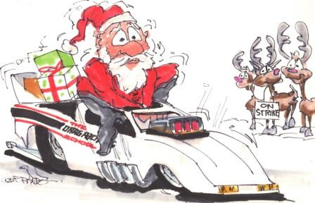 Merry Christmas From Frank Hawleys Drag Racing School