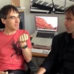 Frank Horvat with flutist Jamie Thompson