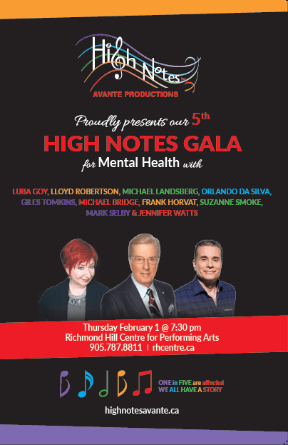High Notes Gala featuring Frank Horvat
