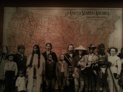 The Western Frontier was very diverse (display at the Gene Autry Museum). Photograph by Rosemary Irvine