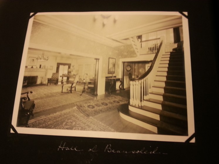 MSMC Archive of Beausoleil entrance hall (Hollywood home of Frank H. Spearman). Photo by Rosemary Irvine