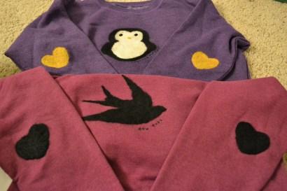 Penguin & Sparrow Sweaters