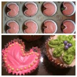 Heartshaped Cupcakes