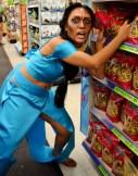 Jasmine from Aladdin as a Zombie