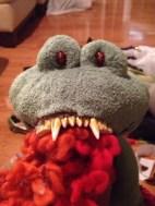 Princess Tiana Scary Frog