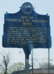 Site of Pensacola St. Augustine Road