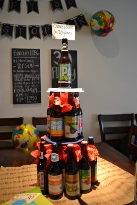 Beer Tower for the 30 Year Old