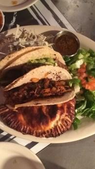 Tacos & Empanada