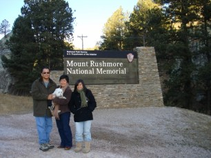 Mount Rushmore National Memorial Sign