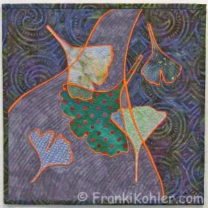 "Franki Kohler, Broken Ginkgos II, 12"" x 12"", 2012"