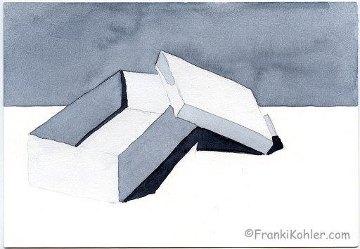 Franki Kohler, One-color painting