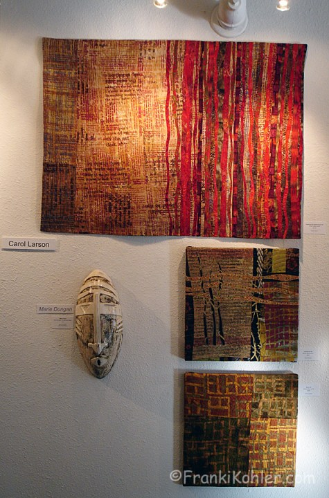 Franki Kohler, art quilts by Carol Larson