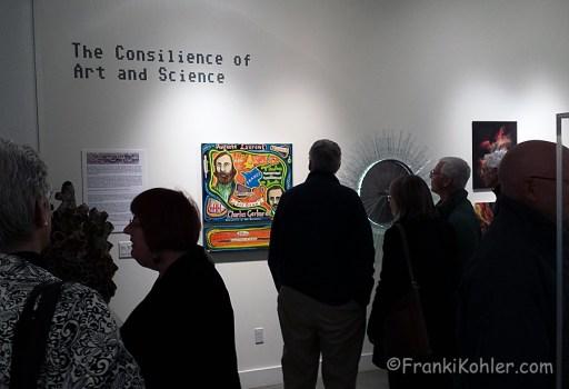 Franki Kohler, Pence Gallery opening