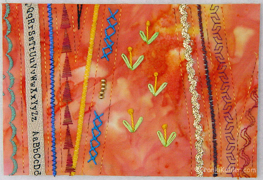 Postcard 2 needed gold beads