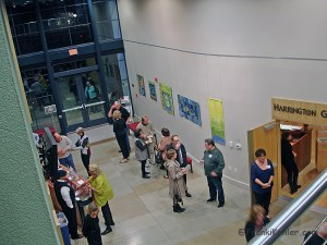 01-15-15 Artist reception 1