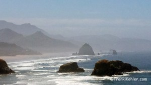 Cannon Beach, July 4th, Haystack Rock