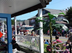 Cannon Beach, July 4th, Fire truck