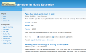 iPad Music education Project