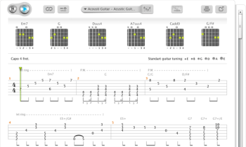 songster tabs and chords