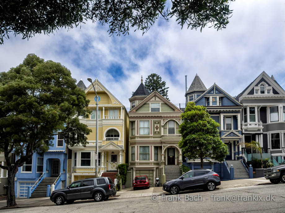 Painted Ladies victorianske  house i San Francisco,